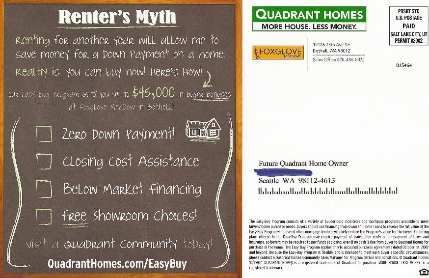 Your down payment could cost less than your latte ...