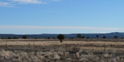 Lots of empty land in Arizona