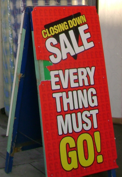 Everything Must Go! by Flickr user London Permaculture