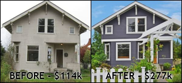 The fix n flip still alive well seattle bubble for House flips before and after