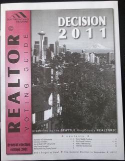 REALTOR Voting Guide 2011