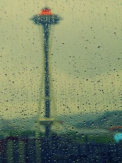 Rainy Seattle by Flickr user Parthiv Haldipur
