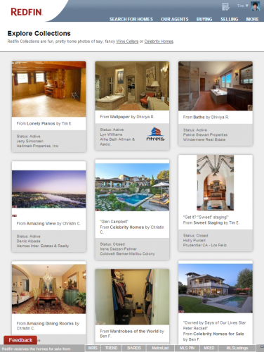 Tim's New Obsession: Redfin Collections