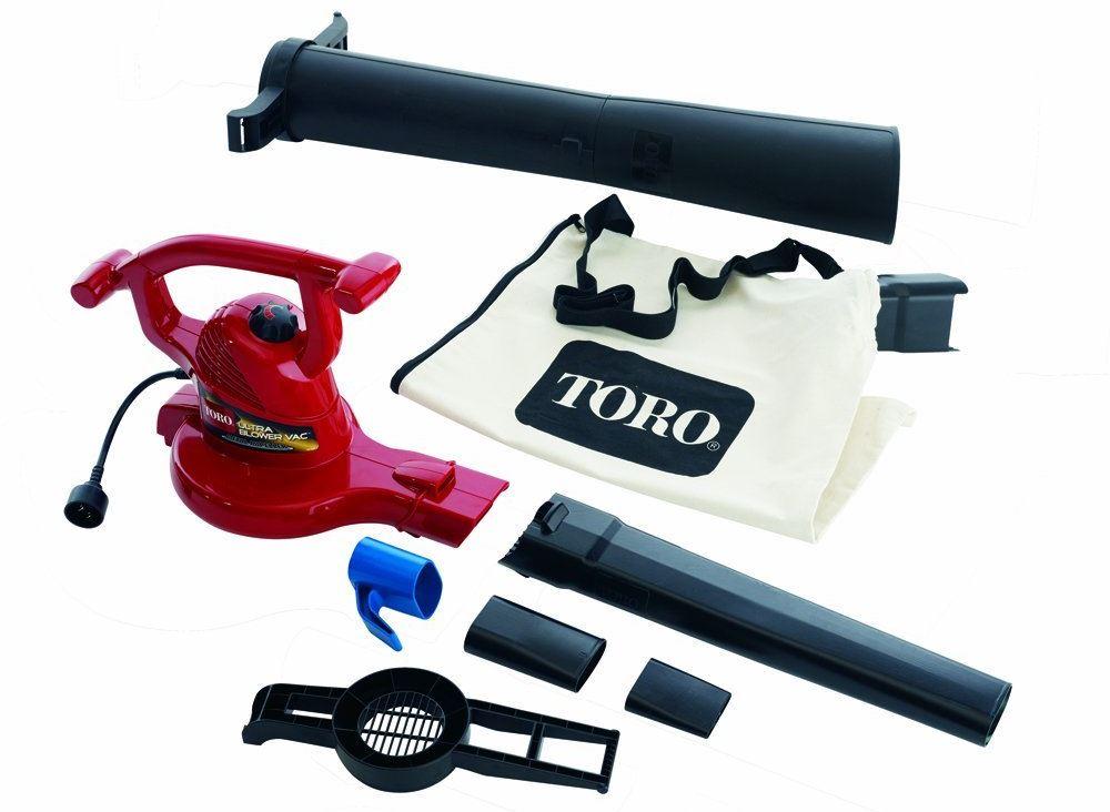 Toro Ultra Blower Vac - 51609 12 amp