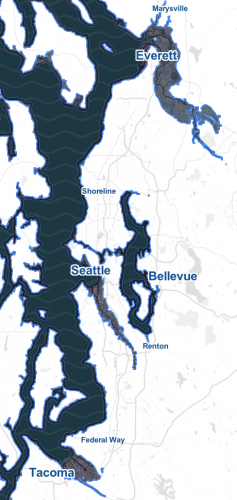 Thousands of Seattle Homes to End Up Literally Underwater