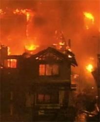 2007 Street of Dreams Burns Down
