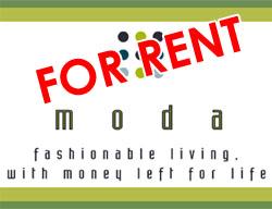 Moda: For Rent