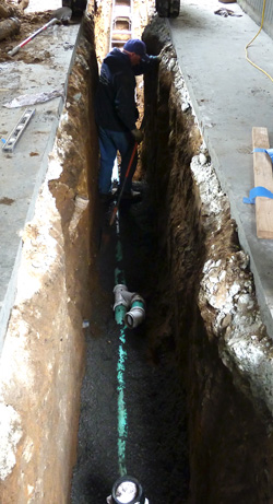 Getting a New Sewer Line