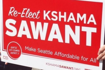 Kshama Sawant Yard Sign