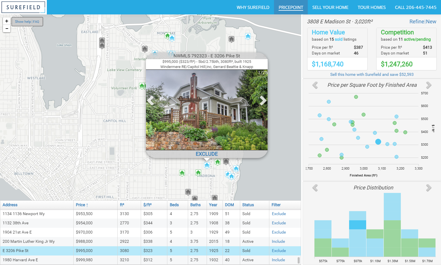 Surefield Releases New Map-Based Home Pricing Tool to ... on airbnb seattle, redfin seattle, adobe seattle, craiglist seattle, expeditors international seattle, mls seattle, tripadvisor seattle, zipcar seattle, apartment guide seattle, estately seattle, ibm seattle, real estate seattle, yelp seattle, urbanspoon seattle, geekwire seattle, groupon seattle, linkedin seattle, avalara seattle, windermere seattle,